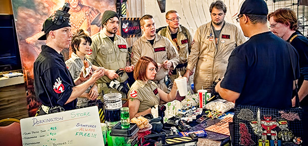 Ozarks Ghostbusters at VisionCon 20th Anniversary